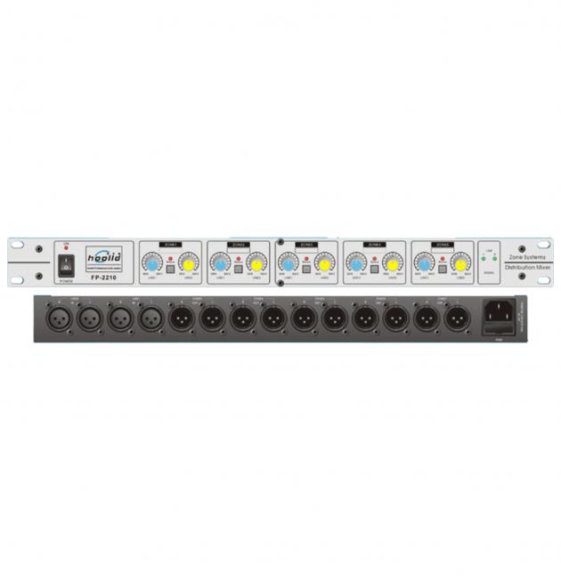 Hooild FP-2210 四進10出立體音源分配器 1