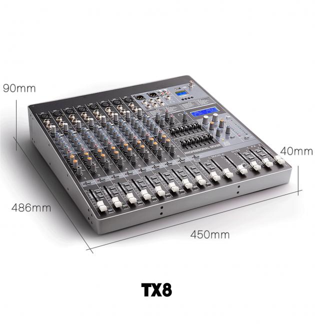 TX6/8/12/16 Series 混音機 3