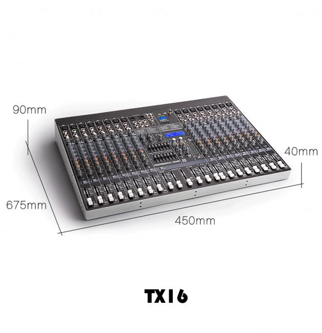 TX6/8/12/16 Series 混音機 5