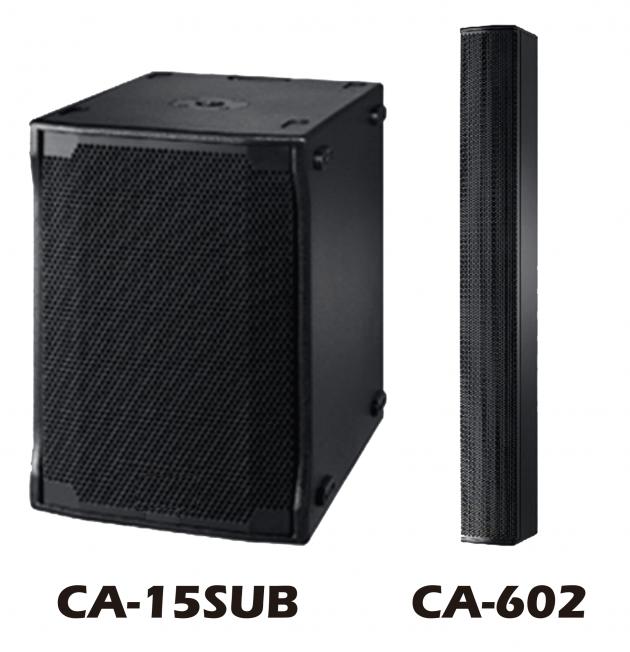 HD CA-15SUB DSP主動式超低音+ CA-602音柱陣列喇叭 1