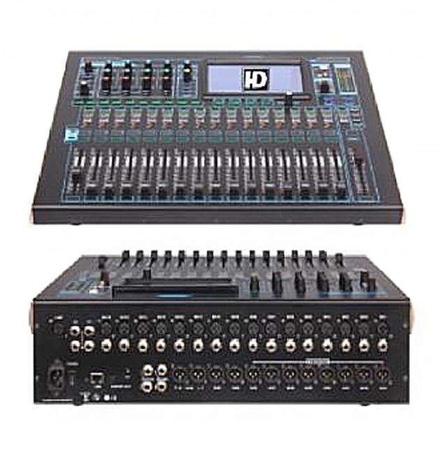 工程專用HD D-2412數位觸控混音器 1