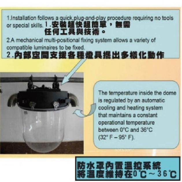 搖頭燈戶外防雨罩 4